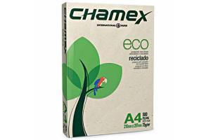 Papel sulfite Reciclado Ecológico A4 210X297 com 100 folhas Chamex unid.