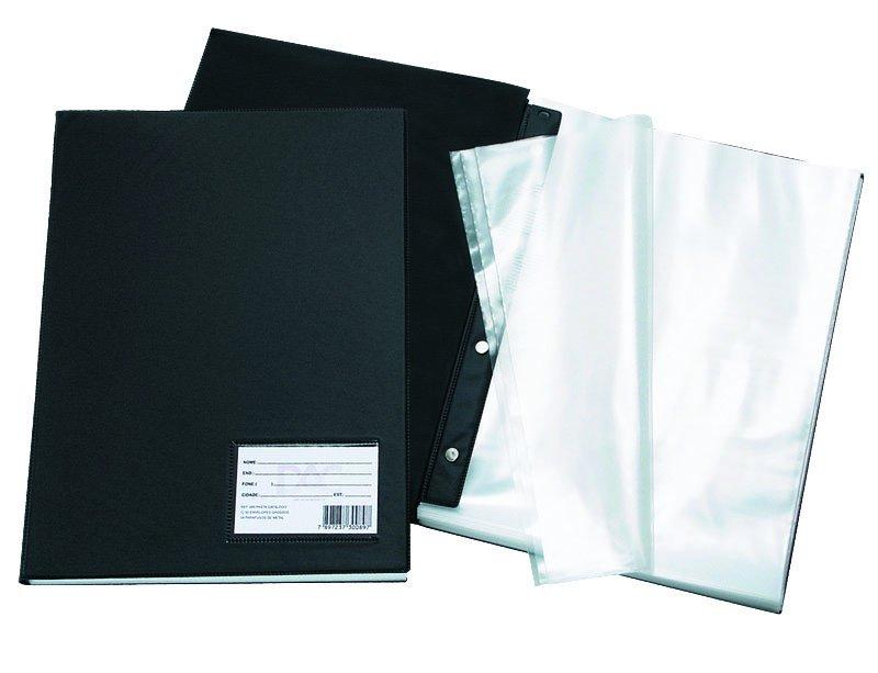 Pasta Catálogo 100 plásticos médio 1019 DAC unid.