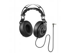 Fone de ouvido Pulse Headphone Premium Wired Large preto Multilaser Ph237 unid.