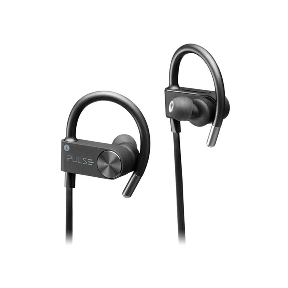 Fone de ouvido Earhook Sport Metallic Pulse preto Multilaser PH252 unid.