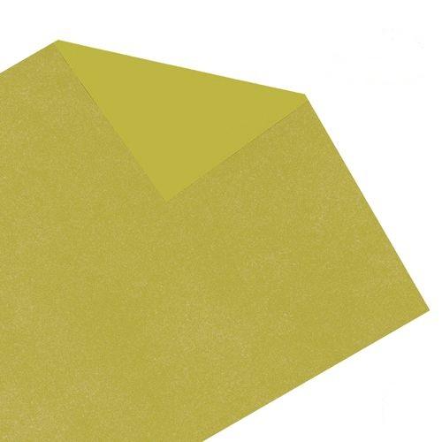 Carbono para riscos e bordados 44 x 66 amarelo Printers pacote com 10 folhas