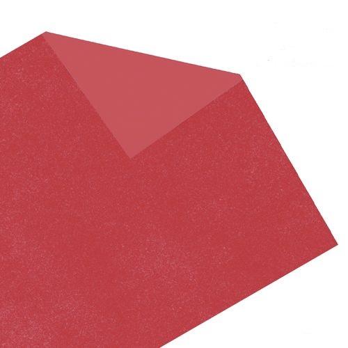 Carbono para riscos e bordados 44 x 66 vermelho Printers pacote com 10 folhas