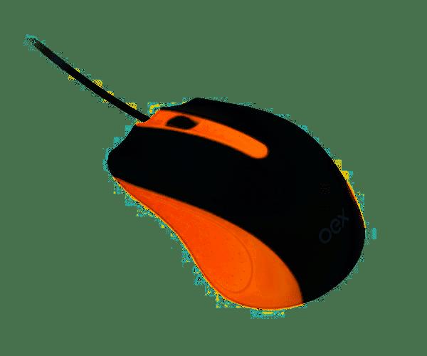 Mouse 1000 DPI 3 botões USB Essential MS104 OEX