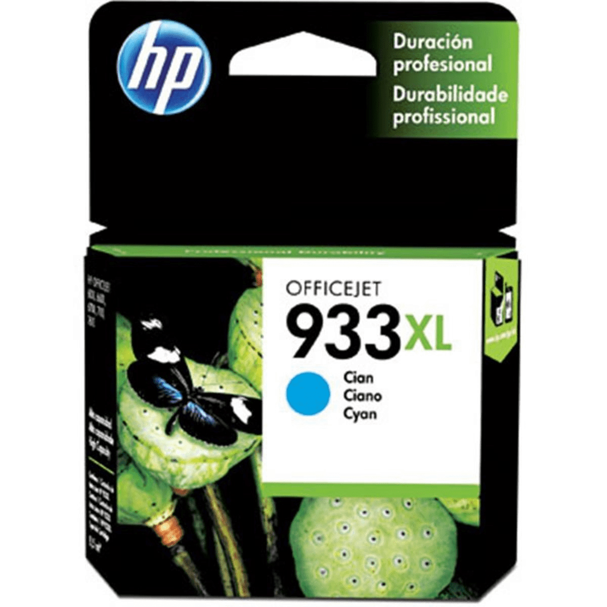 Cartucho de impressão 933XL CN054AL Ciano HP unid.