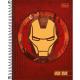 Caderno capa dura universitário 80 folhas Avengers Heroes 23483 Tilibra unid.
