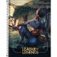 Caderno capa dura universitário 80 folhas League of Legends Tilibra unid.