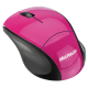 Mouse sem fio 2,4 GHZ FIT rosa Multilaser MO151 unid.