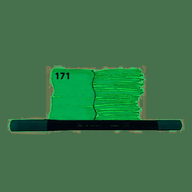 Marcador Dual Tip 2 pontas Bimark 171 verde folha Yes unid.
