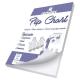 BLOCO FLIP CHART C/ SERRILHA 56 GRS 635 X 840 50 FLS 4457 ROMITEC UND