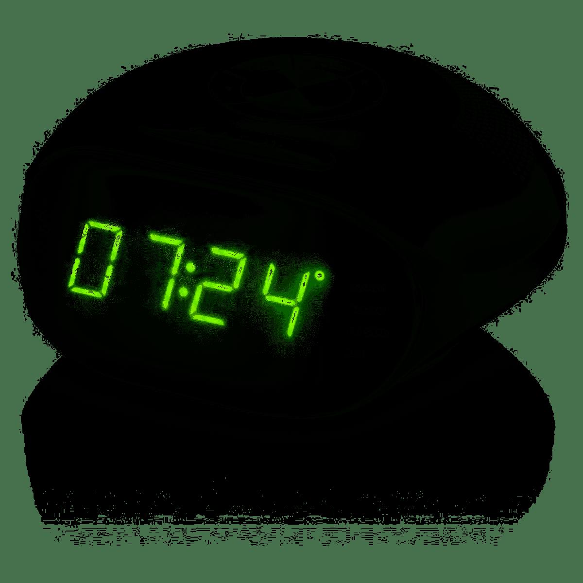 Rádio Relógio 5w Led Verde Bivolt SP202 Multilaser unid.