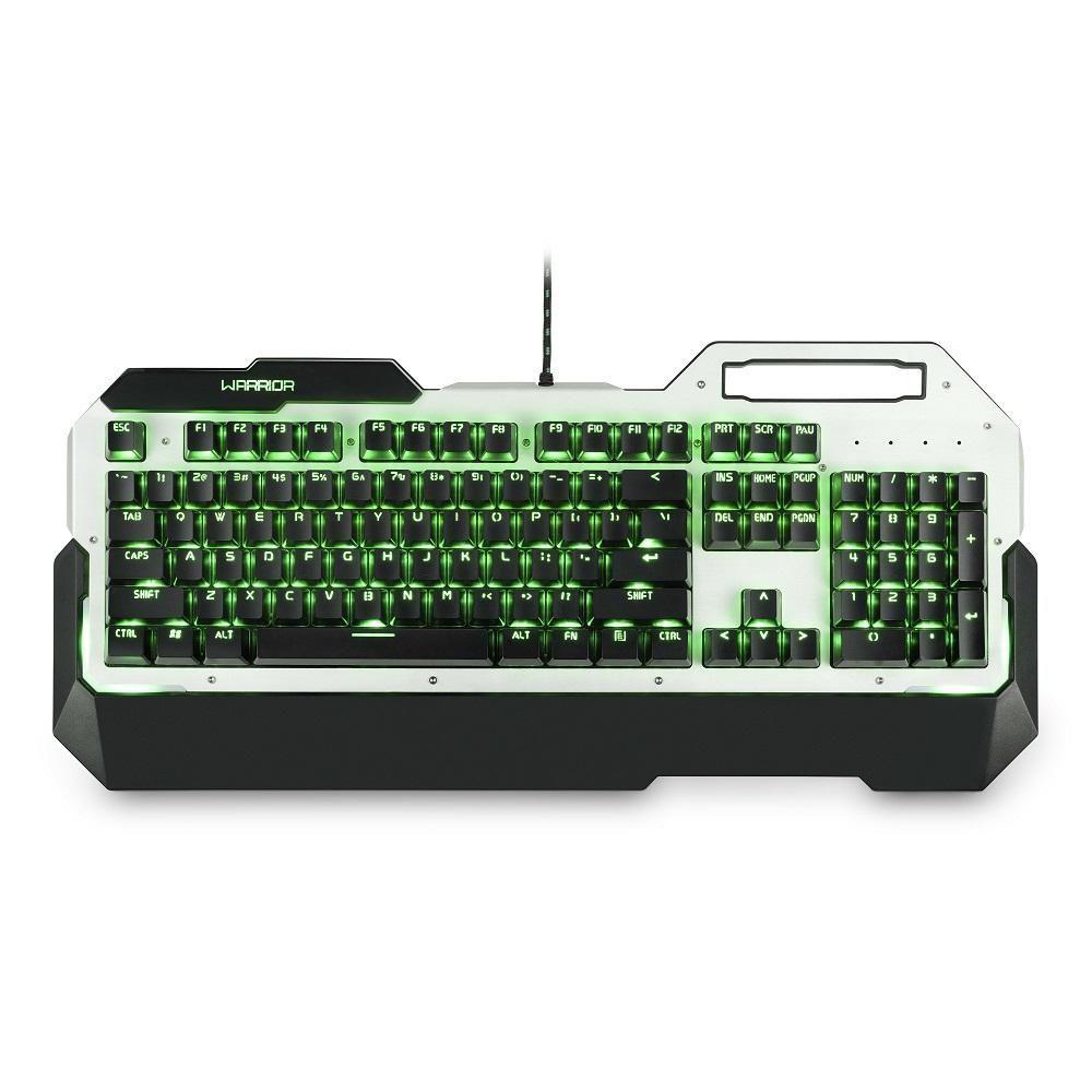 Teclado Warrior Gamer Mecânico com LED USB Multilaser TC217 unid.
