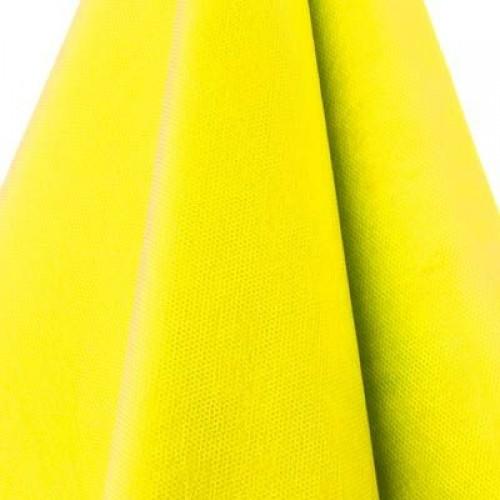 Plástico TNT 1,40 largo amarelo rolo 50 metros Santa Fe